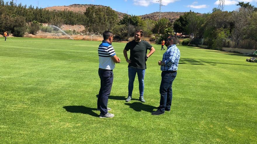 La UD Las Palmas supervisa las instalaciones de la pretemporada