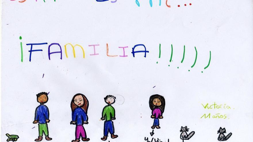 Dibujo de Victoria (11 años), alumna en el 'C.E.I.P. Melquiades Hidalgo' de Cabezón de Pisuerga (Valladolid)