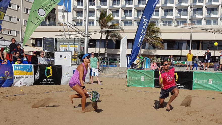 La Playa de Las Canteras acogerá del 7 al 12 de mayo el ITF Beachtennis Gran Canaria 2019