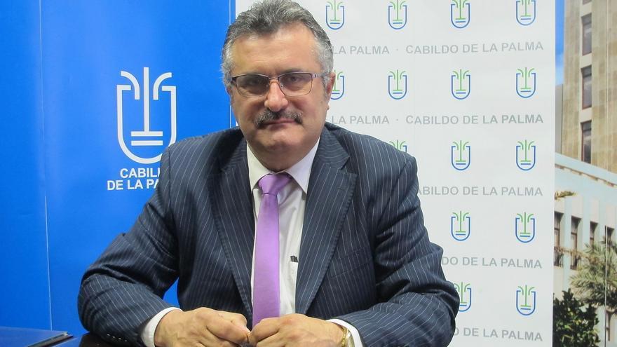 Primitivo Jerónimo es consejero de Cultura del Cabildo.