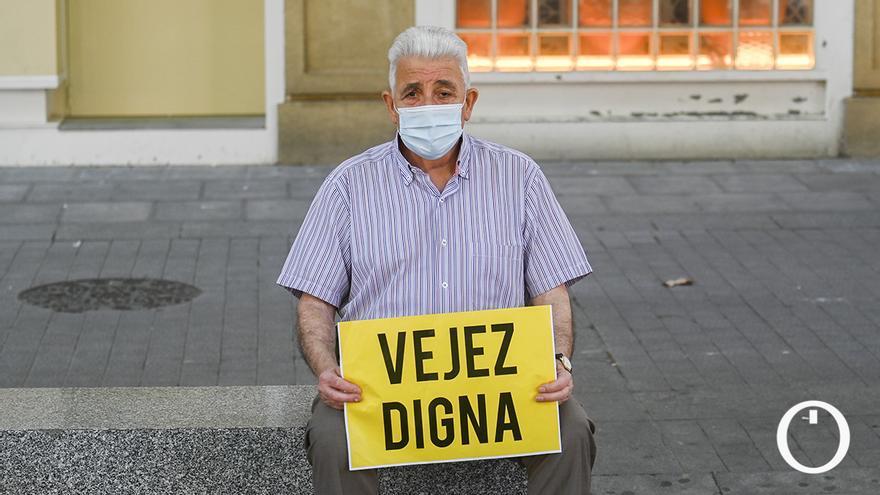 Protesta de pensionistas en Córdoba | TONI BLANCO