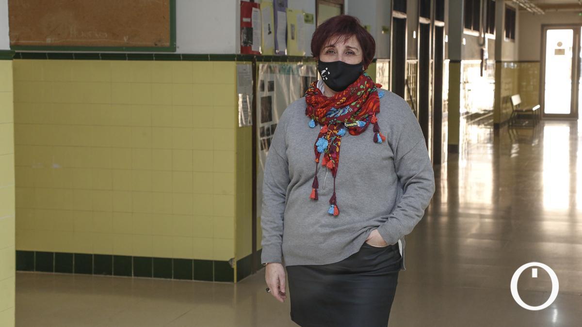 Iluminada García, profesora que ha elaborado el protocolo ante acoso al profesorado