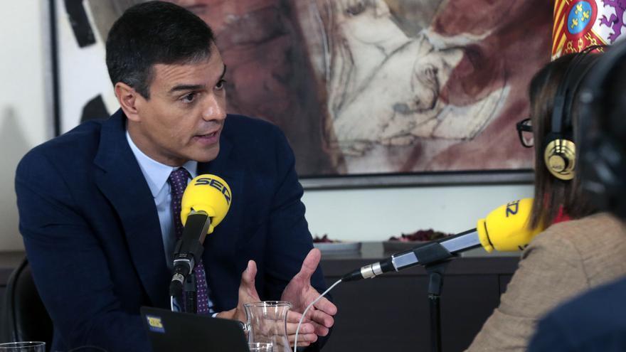 Entrevista a Pedro Sánchez en la Cadena SER