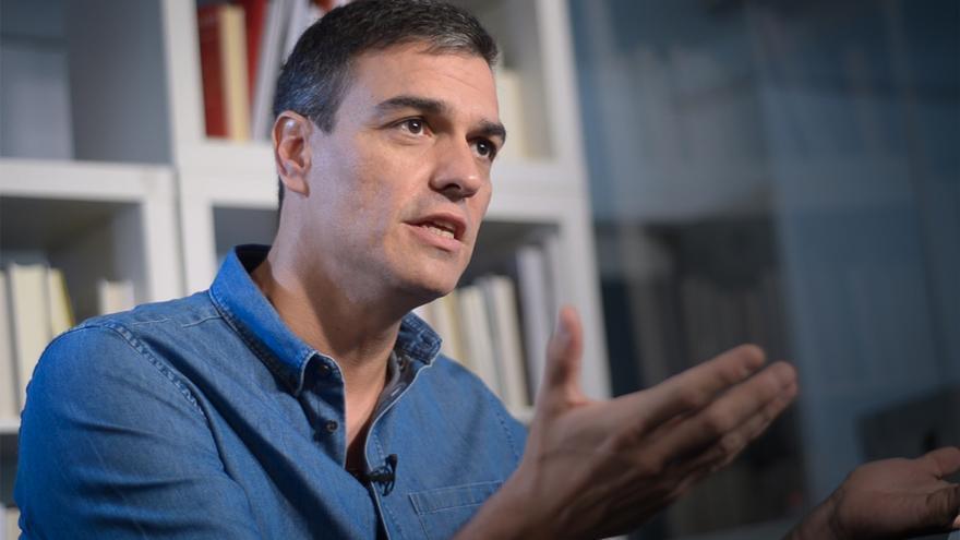 Entrevista a Pedro Sánchez PSOE