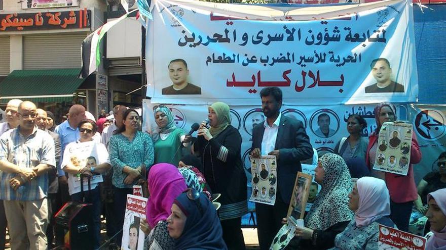 Unos 1300 presos palestinos en cárceles israelíes inician una huelga de hambre