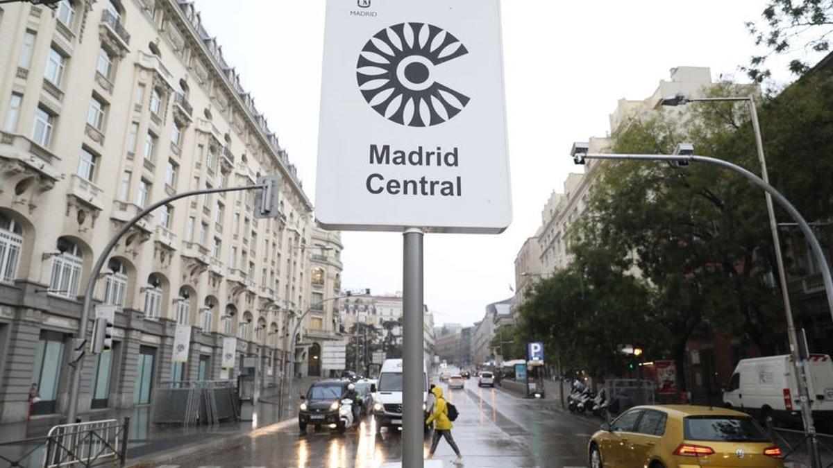 Madrid Central en una imagen de archivo