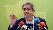 El presidente de Nueva Canarias (NC), Román Rodríguez