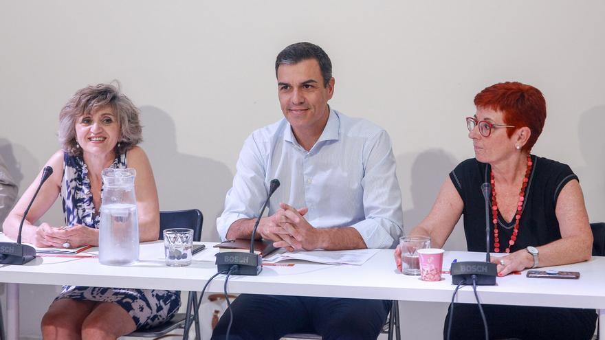 "La ministra Carcedo cree que plantear un candidato alternativo a Sánchez ""está fuera de toda lógica política"""