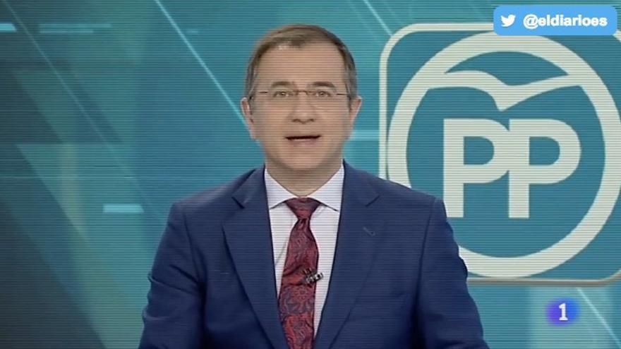 """TVE informa sobre la """"alegría"""" del Congreso del PP"""