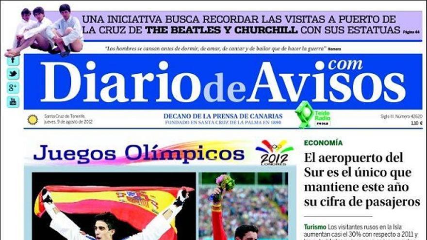De las portadas del día (09/08/2012) #3