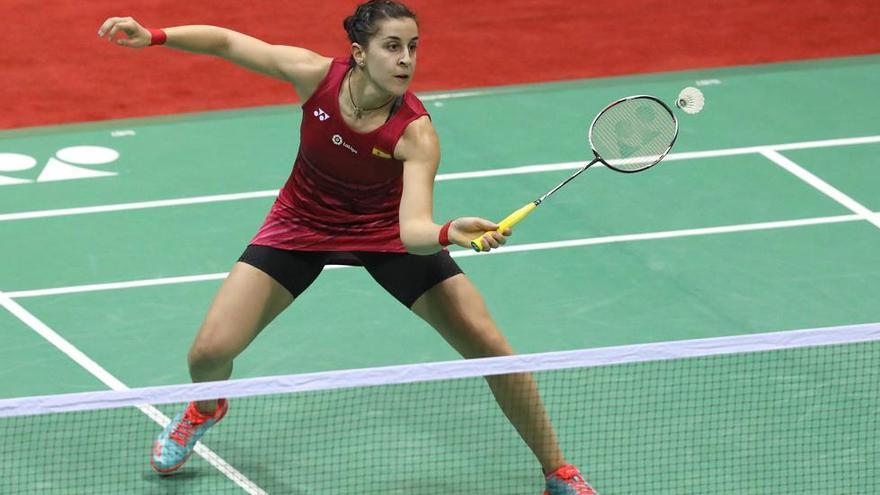 Carolina Marín tampoco pudo ganar el primer torneo del año en la India