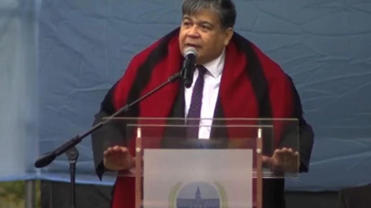 El intendente de José C. Paz, Mario Ishii