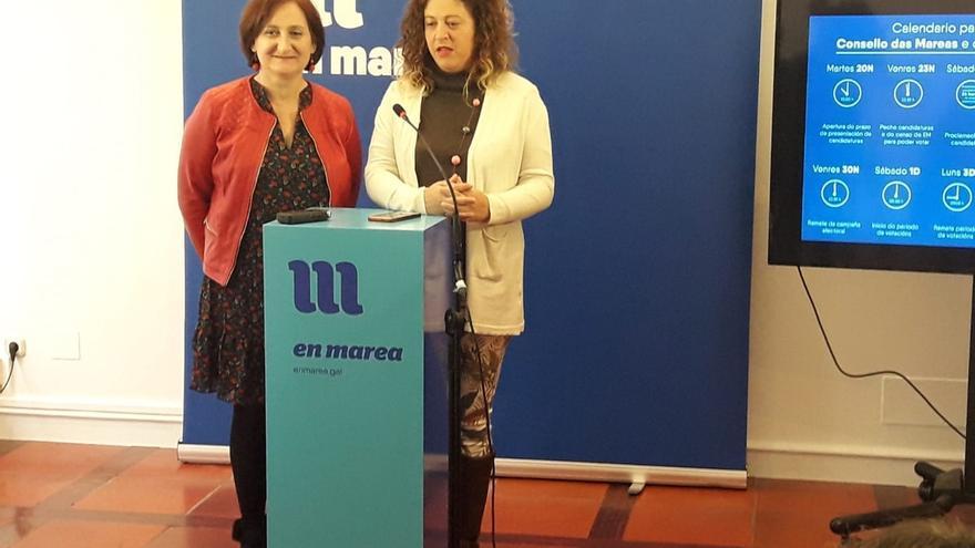 Las elecciones internas de En Marea arrancan el 20 de noviembre y los resultados se conocerán el 5 de diciembre