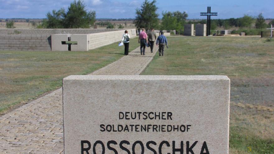 Cementerio de soldados alemanes en Volgogrado (Stalingrado).