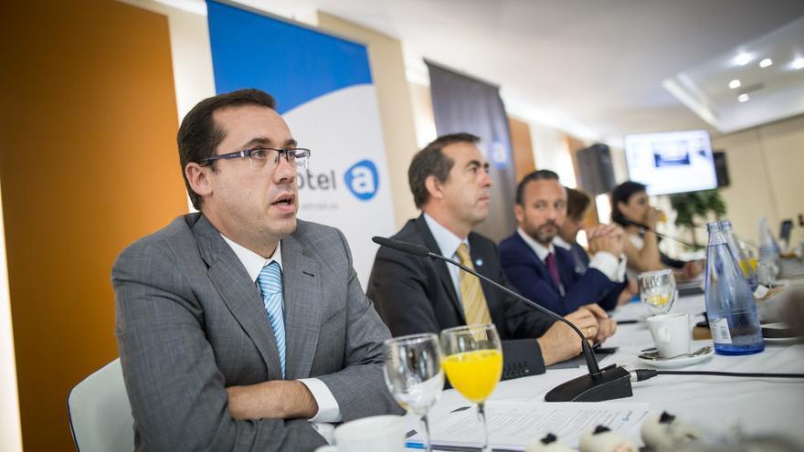 Carlos García Sicilia, vicepresidente de Ashotel en La Palma.