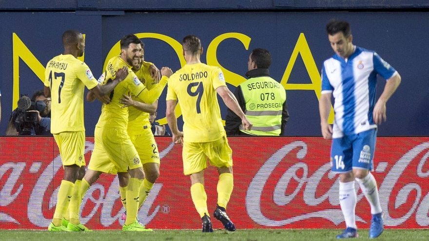 El Espanyol cayó de forma clara frente a un buen Villarreal.