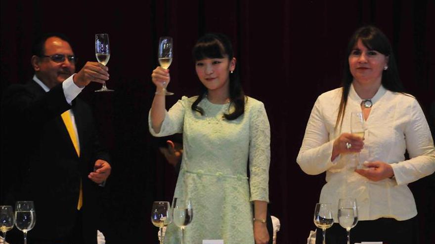 La princesa Mako de Japón visita sitios icónicos de la cultura salvadoreña