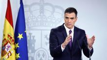"""Sánchez: """"Los monumentos que ensalcen la dictadura franquista pronto serán pasado"""""""