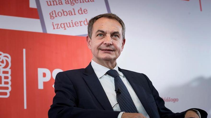 """Zapatero: """"Lo que más une es la expectativa de que se puede ganar al PP"""""""