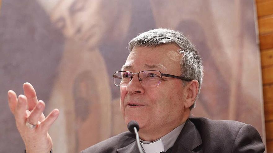 El arzobispo de Tánger (Maruecos), el español, Santiago Agrelo.