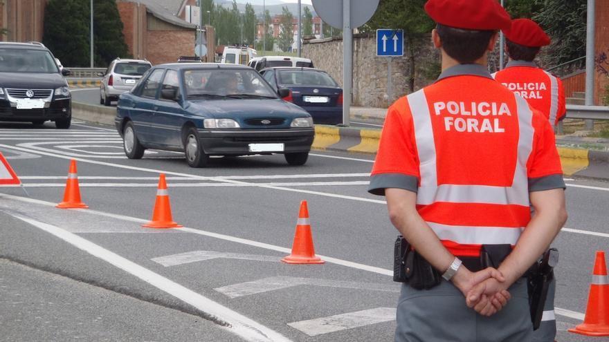 La seguridad de los peatones, objetivo de la próxima campaña de tráfico de las policías de Navarra