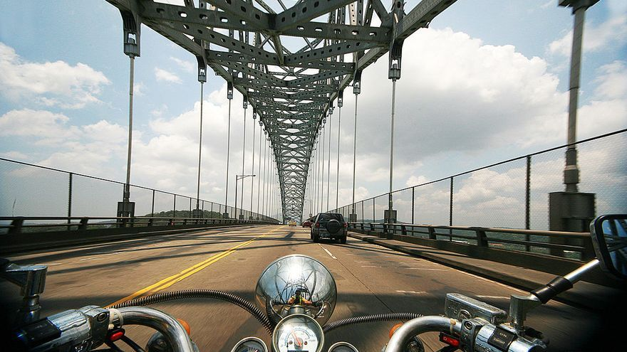 Puente de las Americas en Balboa, Panamá. Foto: Rodolfo Aragundi CC BY-SA