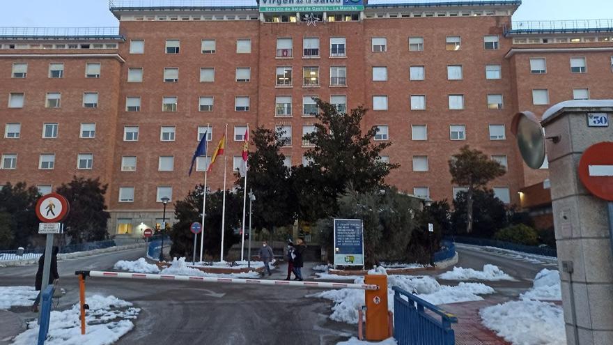 """Vuelve la calefacción al Hospital Virgen de la Salud de Toledo y CSIF sitúa al centro """"al borde del colapso"""" en Urgencias y en camas"""