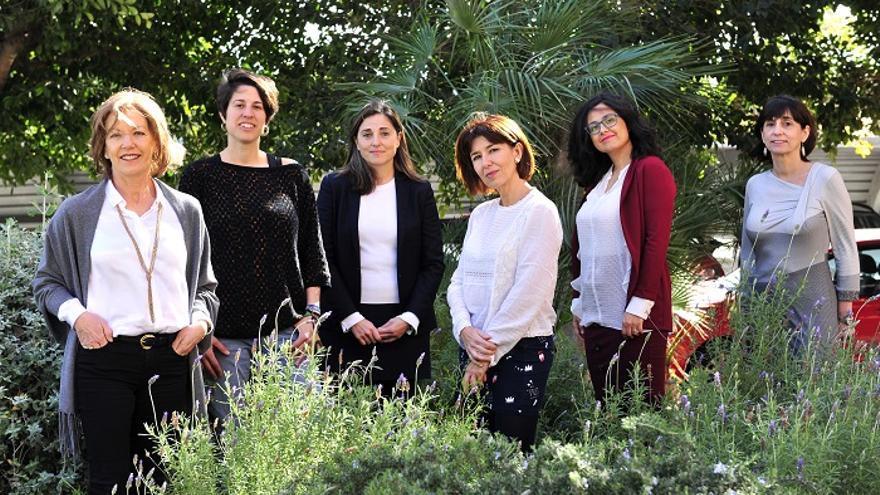 Trabajadoras e investigadoras del CEBAS
