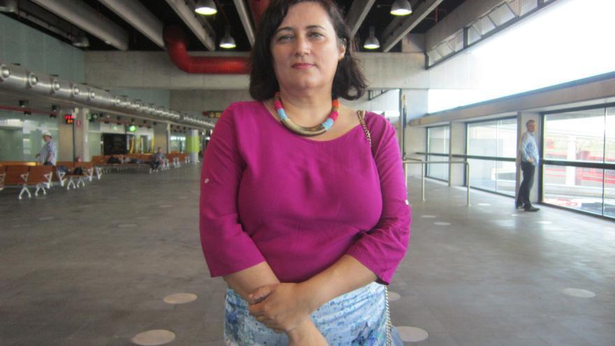Guadalupe González Taño es secretaria general de CC. Foto: LUZ RODRÍGUEZ