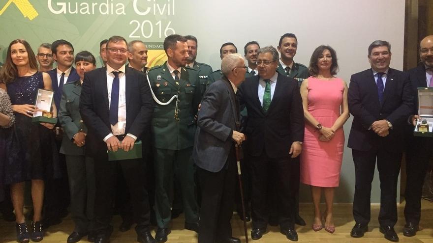 Los Premios de la Guardia Civil rinden homenaje a Fermín Garcés y al resto de agentes que derrotaron a ETA