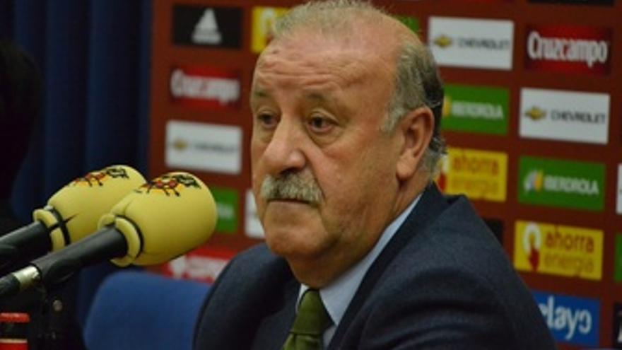 Vicente Del Bosque Rueda De Prensa