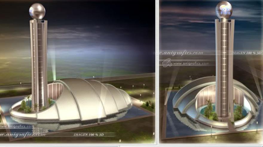 Imagen virtual del Museo Fifa.