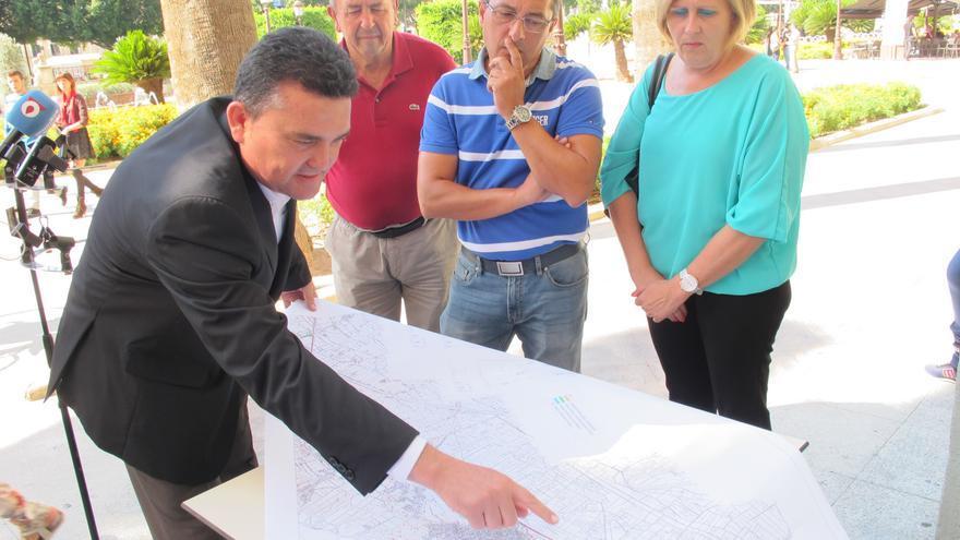Enrique Ayuso, concejal del PSOE en el Ayuntamiento de Murcia