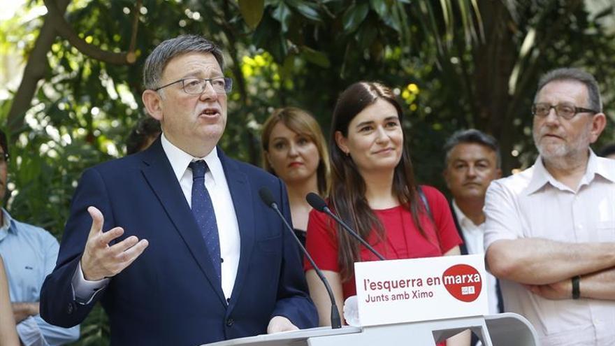 Ximo Puig presenta 8.120 avales y Rafa García 4.600 a las primarias del PSPV