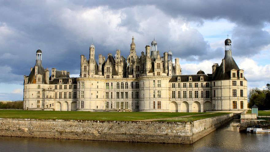 Castillo de Chambord, en Francia.