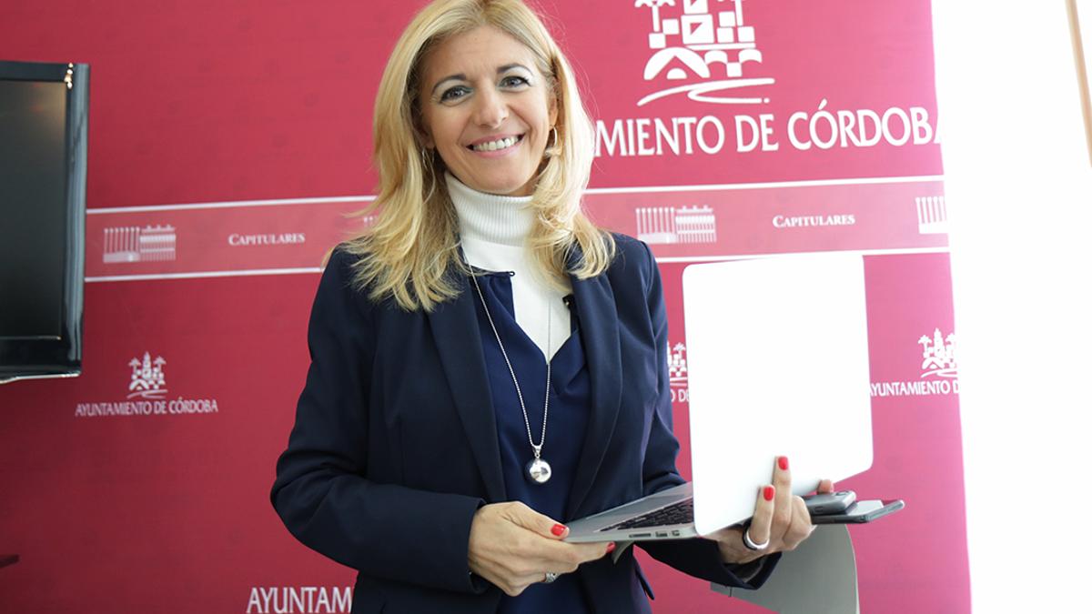 La delegada de Transformación Digital, Lourdes Morales.