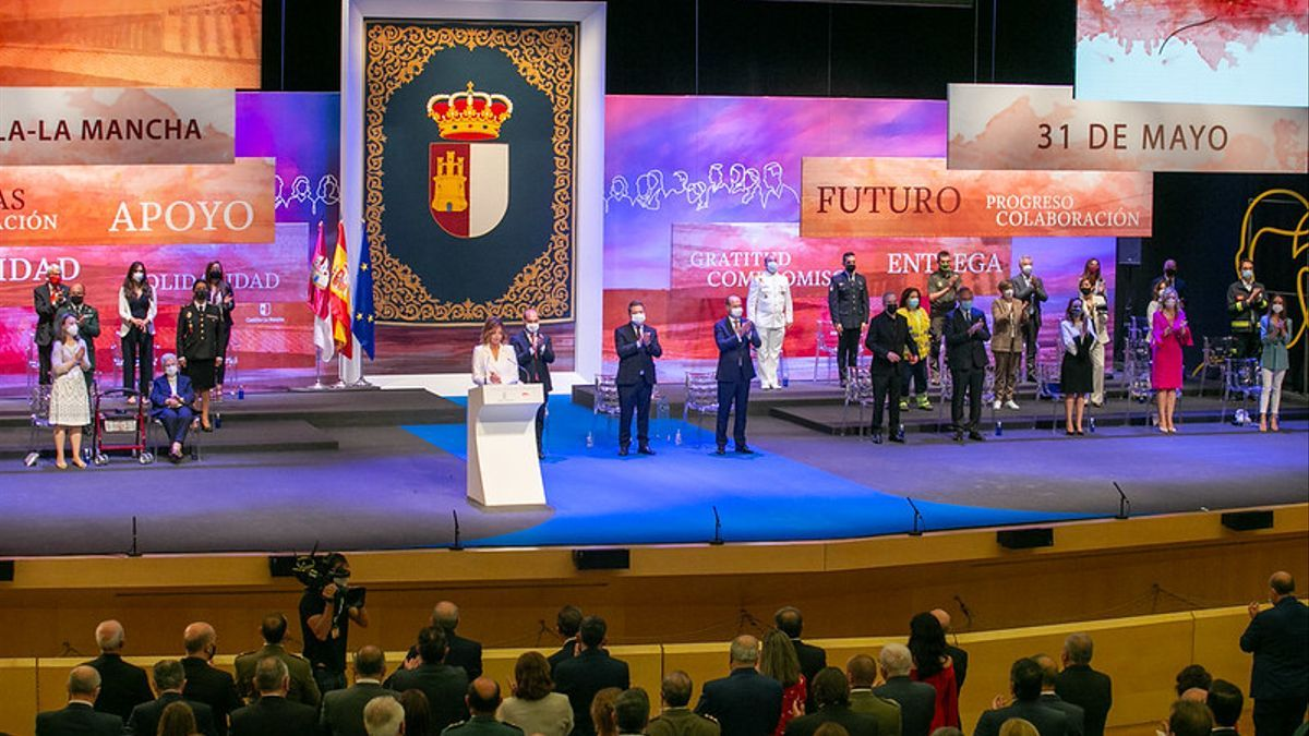 Acto Día de la Región Castilla-La Mancha