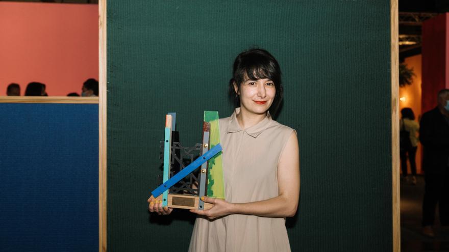 Julia Huete, ganadora del premio de Arte Emergente en ARCO 2021