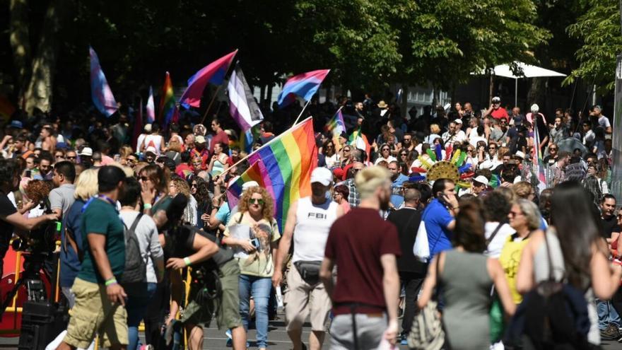 Manifestación del Orgullo LGTBI 2017 en Madrid.