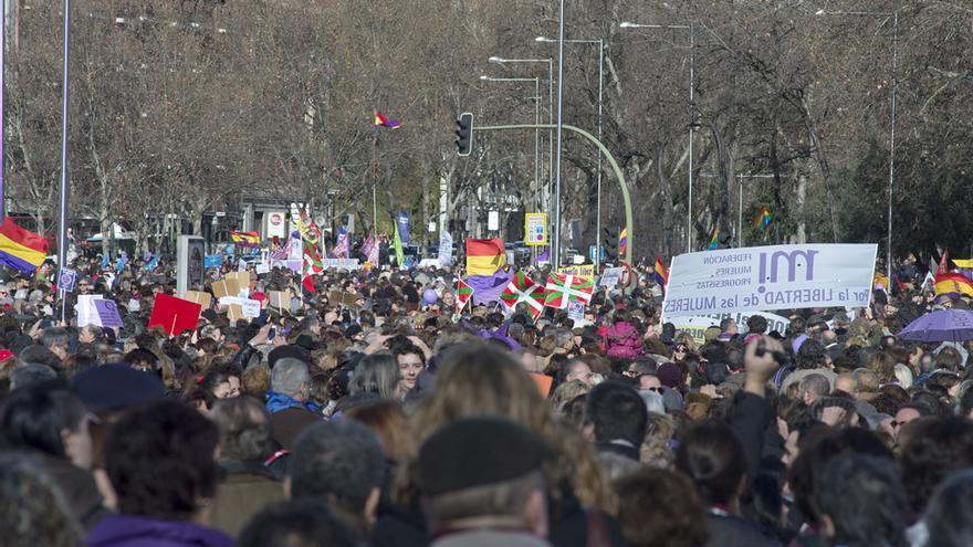 Una multitud ha llenado Madrid para rechazar la reforma del aborto de Gallardón / DISO Press