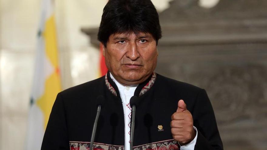 Un congreso extraordinario del MAS nombra a Evo Morales como jefe de campaña