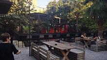 Terraza interior de Convent Carmen