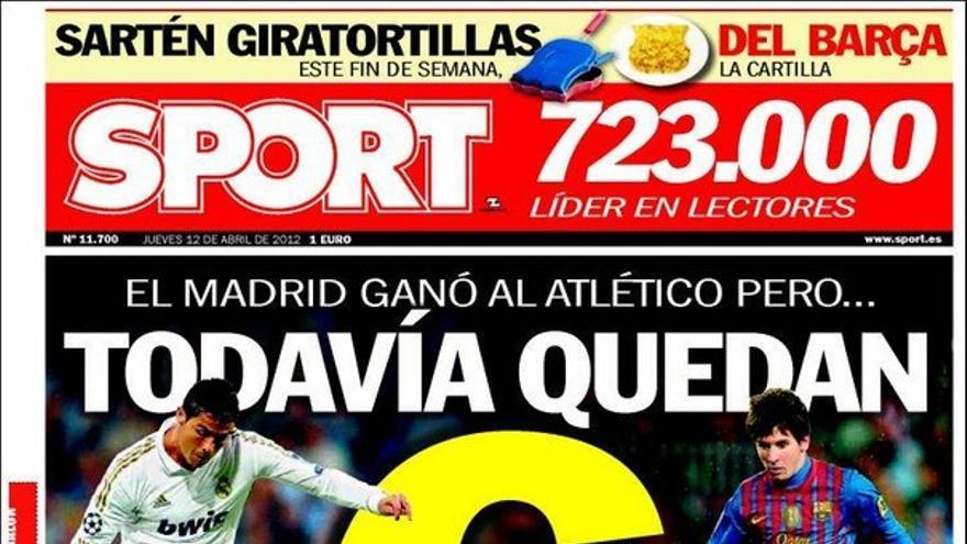 De las portadas del día (12/04/2012) #13