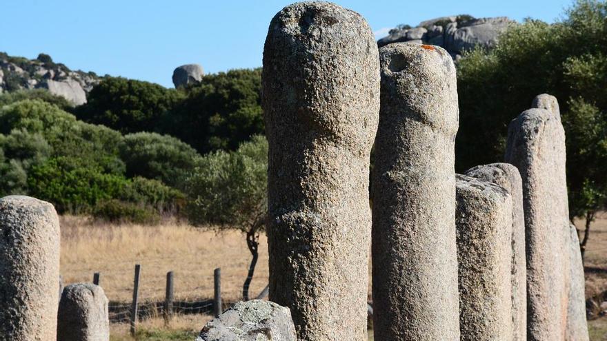 Menhires de Filitosa, uno de los yacimientos arqueológicos más singulares de Córcega. Paul Arps