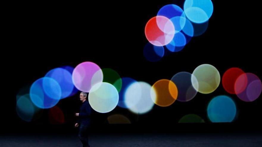 Apple avanza en Wall Street un 0,61 % tras presentar el iPhone 7