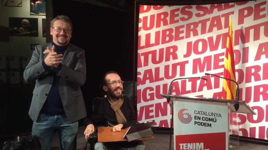 """Echenique pregunta a ERC: """"¿Quién es el candidato: Junqueras o Rovira?"""""""