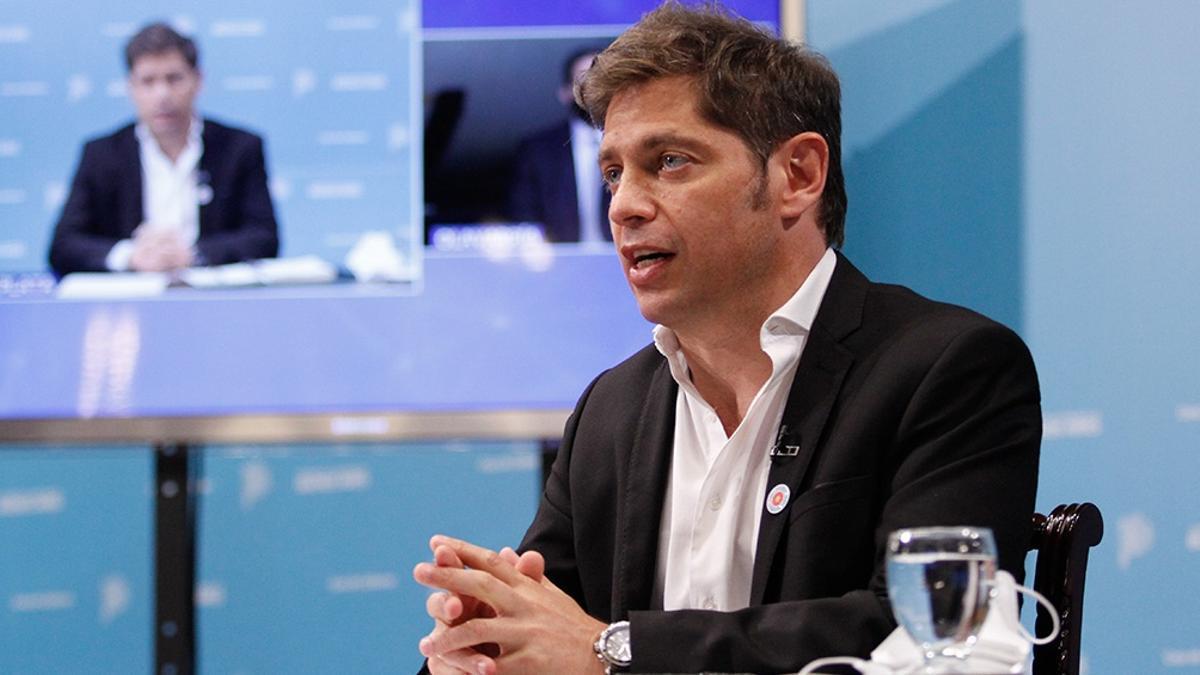 """Axel Kicillof respaldó a Federico Basualdo y lo calificó como """"un excelente funcionario"""""""