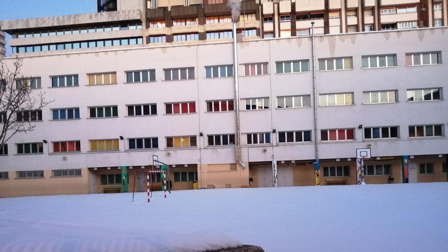 Los centros educativos de Tetuán encaran su reapertura bloqueados por el hielo