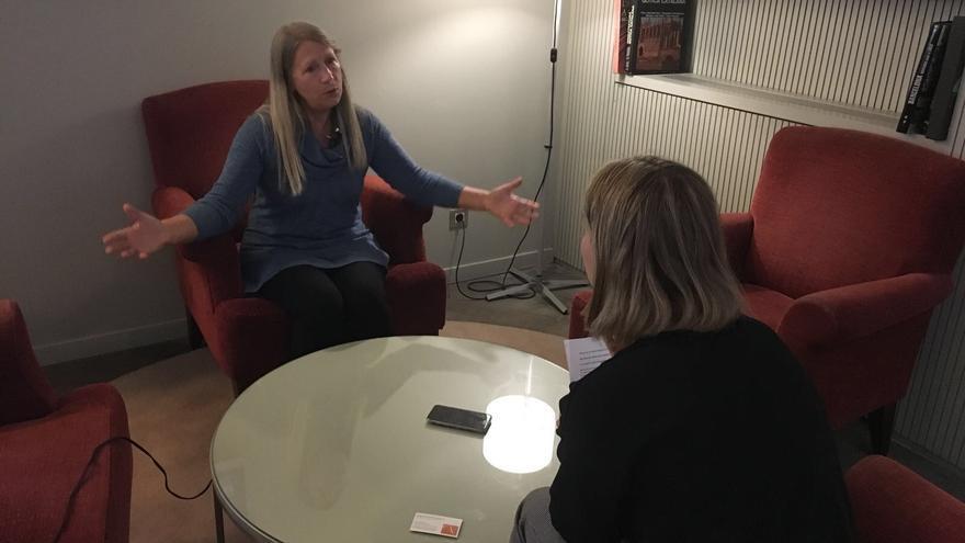 Carol Buckley durante la entrevista con El caballo de Nietzsche