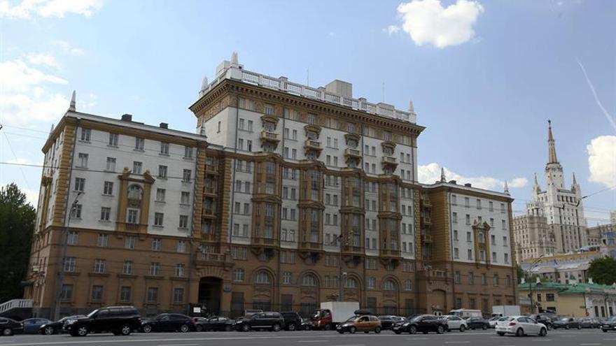 Moscú ordena reducir el número de diplomáticos de EEUU en Rusia